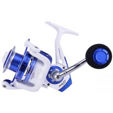 Shakespeare Agility SW FD wit - blauw zeevis zeemolen 4000
