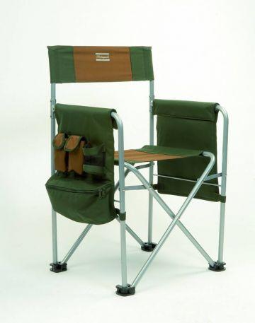Shakespeare Directors Chair groen - bruin - grijs visstoel