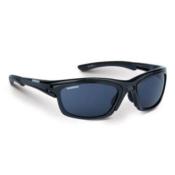 Shimano Aero zwart - grijs - geel viszonnenbril
