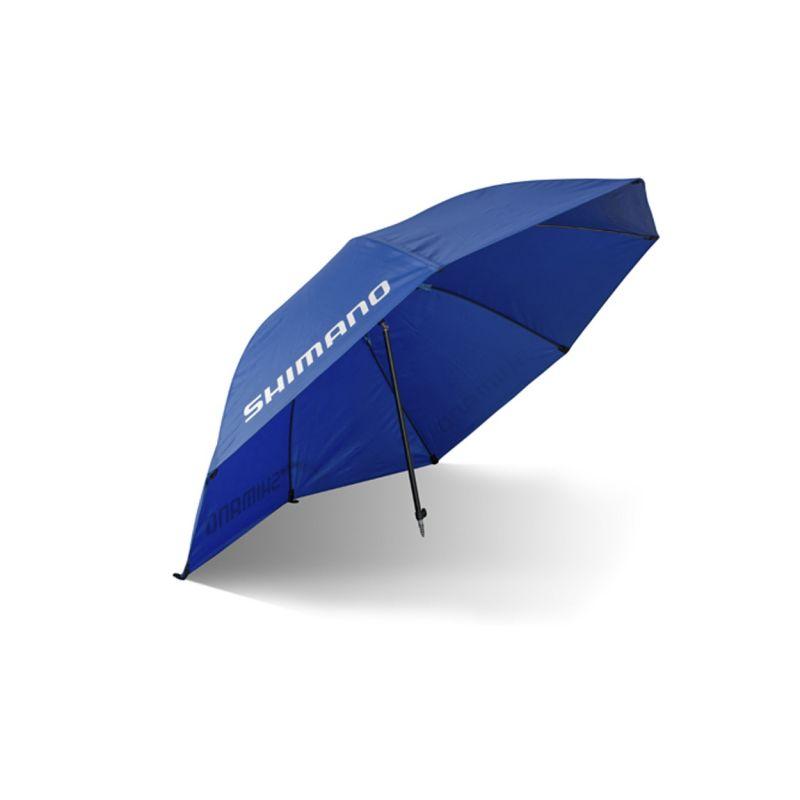 Shimano Allround Stress Free Umbrella blauw - wit visparaplu 2m50