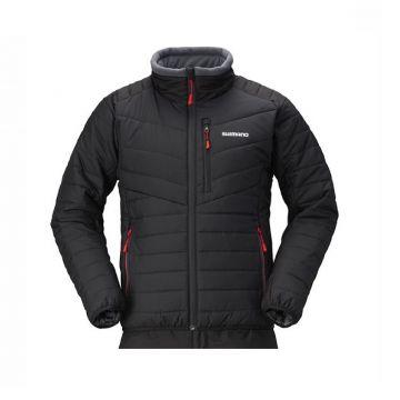 Shimano Basic Insulation Jacket zwart - rood visjas Xx-large