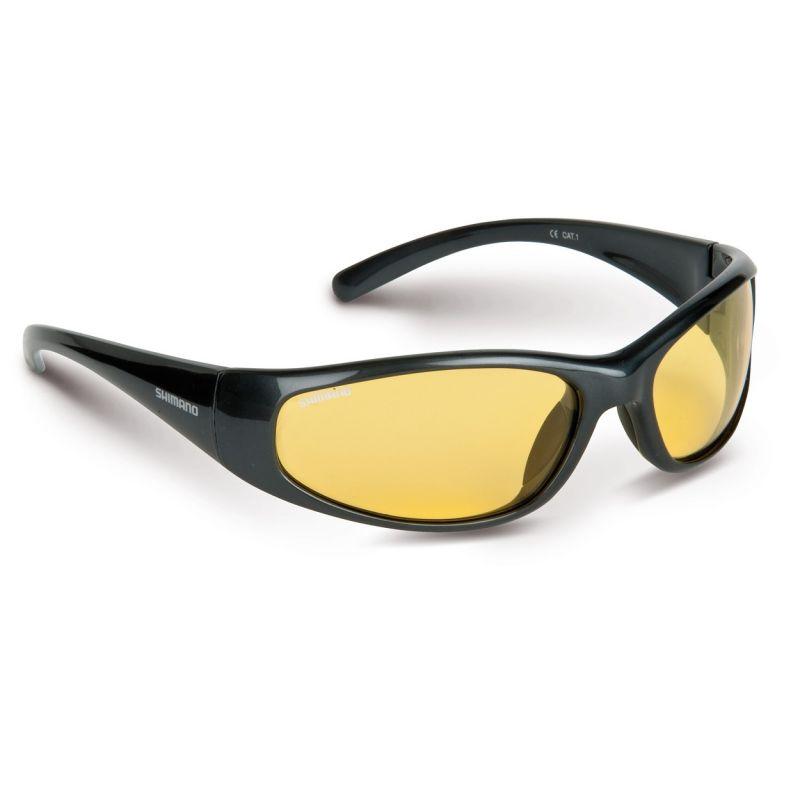 Shimano Curado geel viszonnenbril