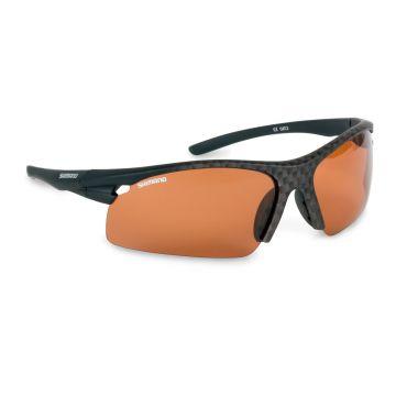 Shimano Fireblood zwart - rood - bruin viszonnenbril