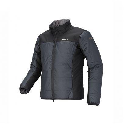 Shimano Light Insulation Jacket zwart - grijs visjas X-large