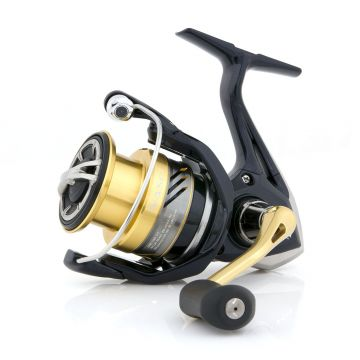 Shimano Nasci FB zwart - goud - zilver vismolen 2000