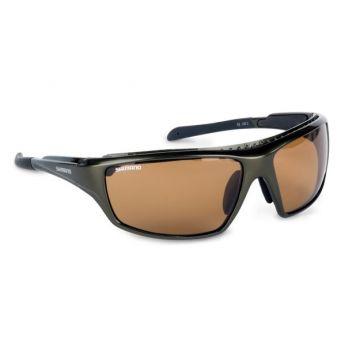 Shimano Purist zwart - bruin viszonnenbril