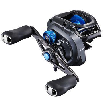 Shimano SLX XT HG zwart - blauw visreel Left