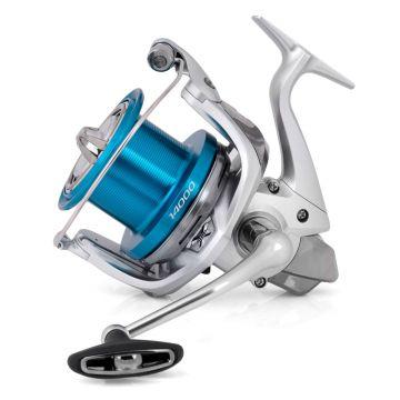 Shimano Speedmaster XSC zilver - blauw zeevis zeemolen 14000