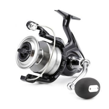 Shimano Spheros SW zwart - zilver zeevis zeemolen 10000