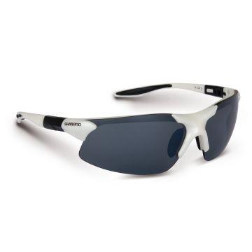 Shimano Stradic zwart - grijs - wit viszonnenbril