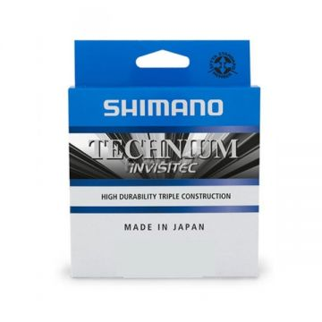 Shimano Technium Invisitec grijs karper visdraad 0.18mm 300m