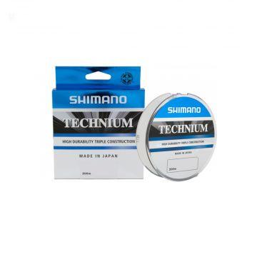 Shimano Technium zwart karper visdraad 0.25mm 200m