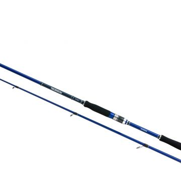 Shimano Technium Spinning zwart - blauw - zilver roofvis spinhengel 2m40 7-35g