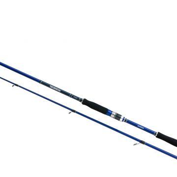 Shimano Technium Spinning zwart - blauw - zilver roofvis spinhengel 2m50 21-56g