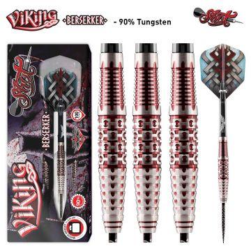 Shot Viking Berserker 90% zwart -  zilver - rood 23g
