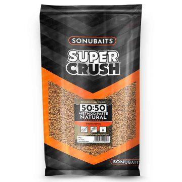Sonubaits 50:50 Method & Paste Natural 2kg bruin witvis visvoer