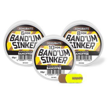 Sonubaits Band'Um Sinkers Banoffee bruin - geel witvis mini-boilie 8mm