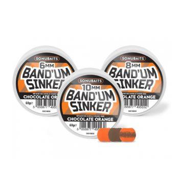 Sonubaits Band'Um Sinkers Chocolate Orange bruin - oranje witvis mini-boilie 10mm