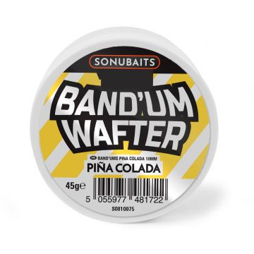 Sonubaits Band'Um Wafter Pina Colada geel - wit witvis mini-boilie 8mm