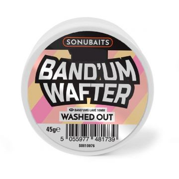Sonubaits Band'Um Wafter Washed Out roze - geel witvis mini-boilie 6mm