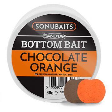 Sonubaits Band'Ums Chocolate Orange bruin - oranje witvis mini-boilie 10mm