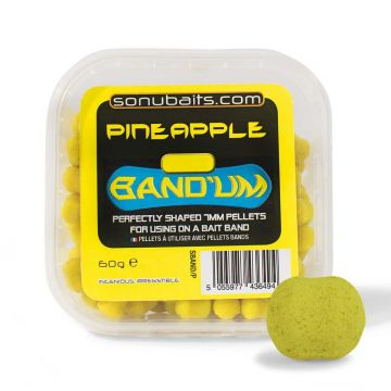 Sonubaits Band'Ums Pineapple geel witvis mini-boilie 5mm