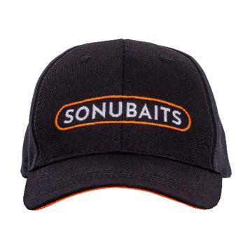 Sonubaits Cap zwart - oranje pet Uni