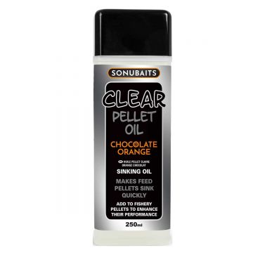 Sonubaits Clear Pellet Oil Chocolate Orange clear aas liquid 250ml