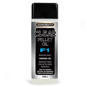 Sonubaits Clear Pellet Oil F1 clear aas liquid 250ml