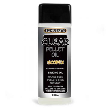 Sonubaits Clear Pellet Oil Scopex clear aas liquid 250ml