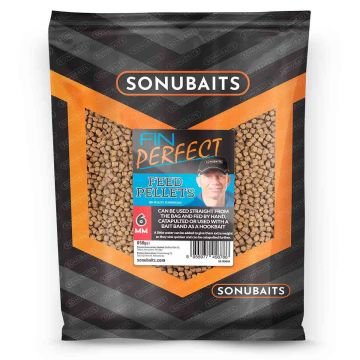 Sonubaits FIN Perfect Feed Pellets bruin vispellets 6mm 650g