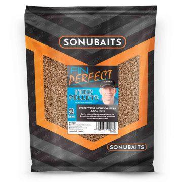 Sonubaits FIN Perfect Feed Pellets bruin vispellets 2mm 650g