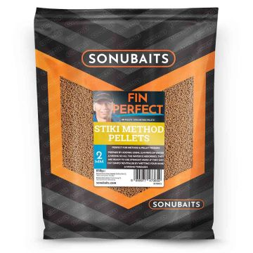 Sonubaits FIN Perfect Stiki Method Pellets bruin vispellets 2mm 650g