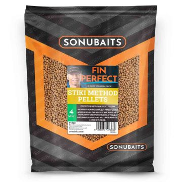 Sonubaits FIN Perfect Stiki Method Pellets bruin vispellets 4mm 650g