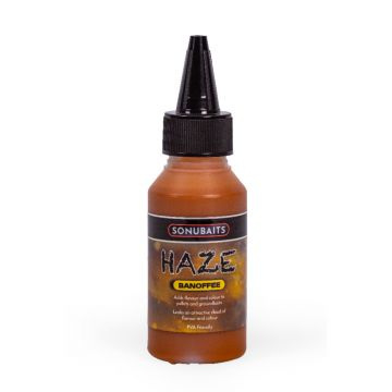 Sonubaits Haze Banoffee geel aas liquid 100ml