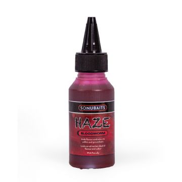 Sonubaits Haze Bloodworm rood aas liquid 100ml