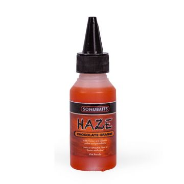 Sonubaits Haze Chocolate Orange oranje aas liquid 100ml