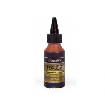 Sonubaits Haze Pineapple & Coconut geel aas liquid 100ml