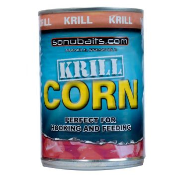 Sonubaits Krill Corn geel - oranje partikel 400g