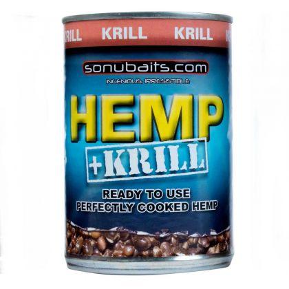 Sonubaits Krill Hemp zwart partikel 400g