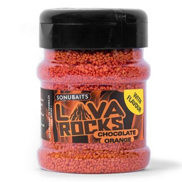 Sonubaits Lava Rocks Chocolate Orange rood witvis visadditief