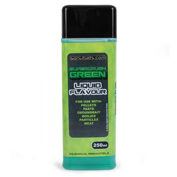Sonubaits Liquid Flavour Supercrush Green groen aas liquid 250ml