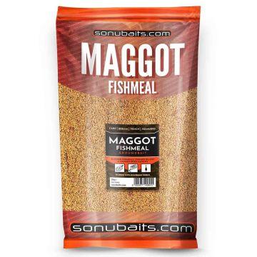 Sonubaits Maggot Fishmeal 2kg bruin witvis visvoer