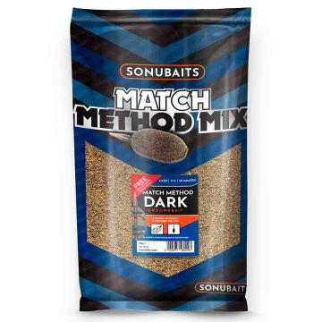 Sonubaits Match Method Mix Dark 2kg zwart witvis visvoer