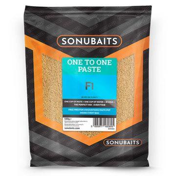 Sonubaits One To One Paste F1 500g bruin witvis visvoer