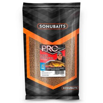 Sonubaits Pro Feed Pellets bruin vispellets 2mm 1kg
