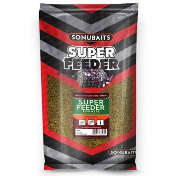 Sonubaits Super Feeder Fishmeal 2kg groen witvis visvoer
