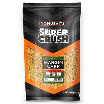 Sonubaits Supercrush Margin Carp 2kg bruin witvis visvoer