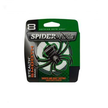 Spiderwire Stealth Smooth groen gevlochten visdraad 0.10mm 300m