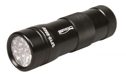 Spro 12-LED UV-Flash Torch SPLC95UV zwart lamp
